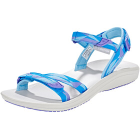 Columbia Big Water Sandals Women Blue Sky/White